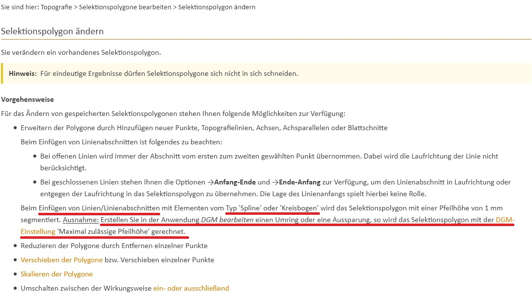 "Abbildung 4: Selektionspolygon ""neu"" über ""Umring"""
